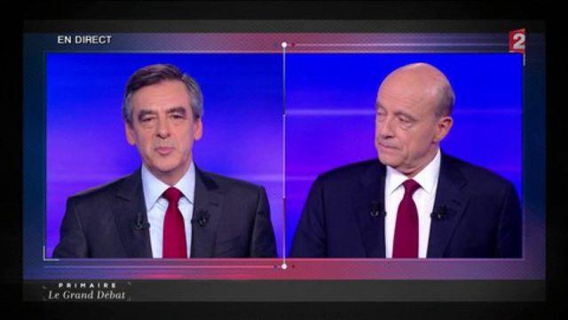 """Primaire de la droite : """"Chacun est grand et s'occupe de ses affaires"""", répond Fillon à Juppé"""