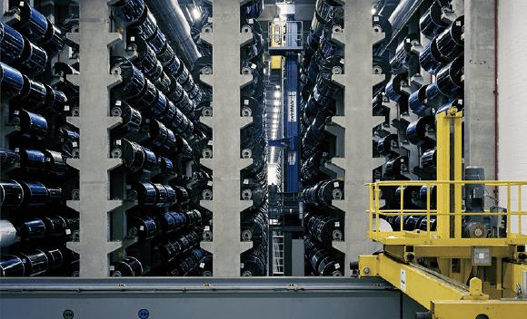 Robert Burley -Film Warehouse, Agfa-Geveart, Mortsel, 2007 (détail)  (Culturebox / Capture d'écran)