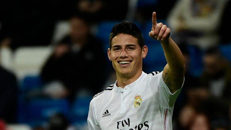 James Rodriguez (Real Madrid) a signé un doublé en Coupe du Roi face à Cornella.