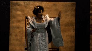 Anna Shafajinskaia incarne Turandot aux Soirées Lyriques de Sanxay.  (France 3)
