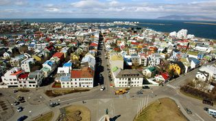 Reykjavik, la capitale de l'Islande. (ODD ANDERSEN / AFP)