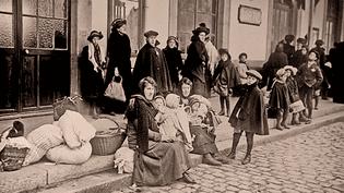 Le rôle d'Evian dans la Grande Guerre : accueil et protection  (DR)