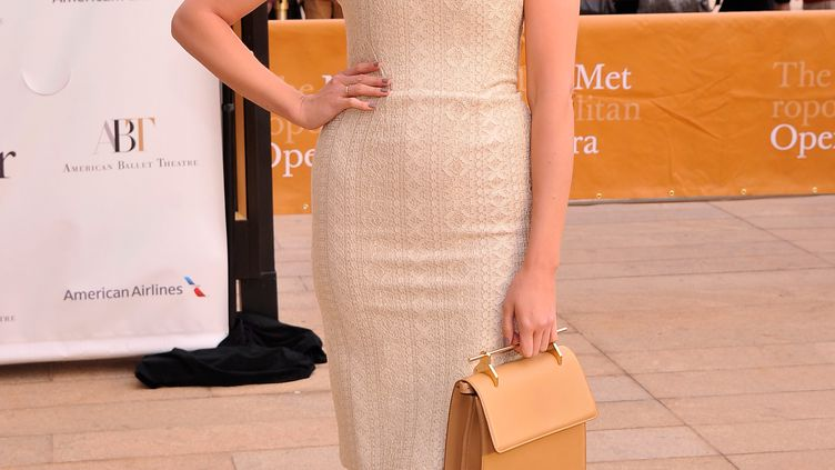 La top model Robyn Lawley à New York (Etats-Unis), le 13 mai 2013. (STEPHEN LOVEKIN  / GETTY IMAGES NORTH AMERICA / AFP)