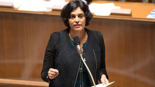 La ministre du Travail, Myriam El Khomri, le 23 novembre 2016 à l'Assemblée nationale. (CITIZENSIDE/YANN BOHAC / CITIZENSIDE)