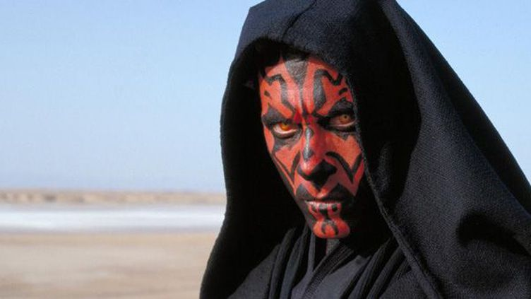 "Ray Park est Dark Maul dans ""Star Wars Episode 1 : La Menace fantôme"" de George Lucas  (Twentieth Century Fox France)"