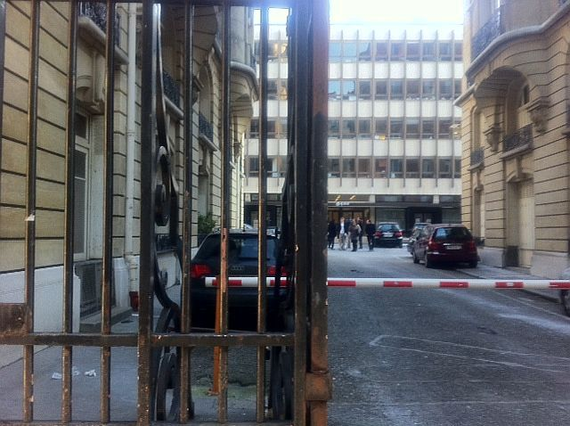 Le QG de Dominique de Villepin, rue du Cherche-Midi (Paris VIe) (AB)
