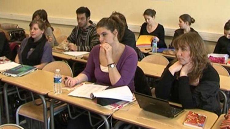 Etudiantes en formation à l'IUFM