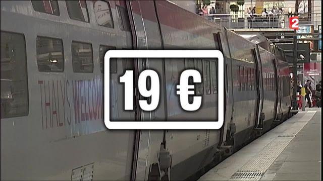 Thalys : Paris-Bruxelles à bas-coûts