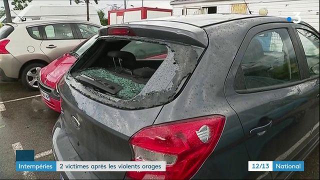 Orages : deux touristes perdent la vie en Suisse et en Haute-Savoie