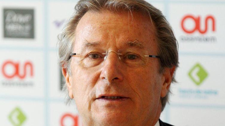 Jacky Lorenzetti, le président du Racing-Métro