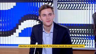 Théo Michel (Jeunes Républicains) (FRANCEINFO)