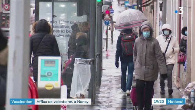 Vaccination contre le coronavirus : 2 000 rendez-vous pris en une journée à Nancy