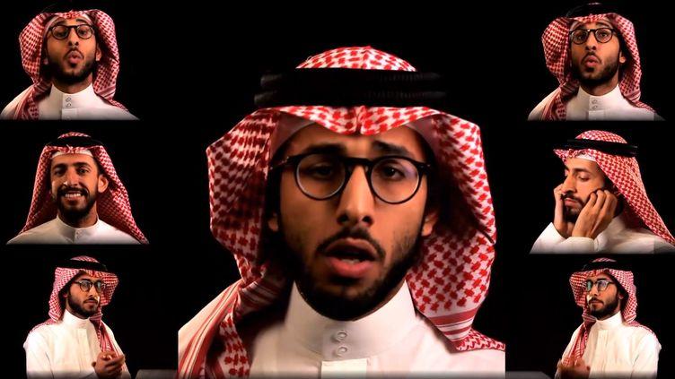 Capture de la vidéo Youtube de la vidéo No woman, no drive du chanteur Alaa Wardi. (  FRANCETV INFO )