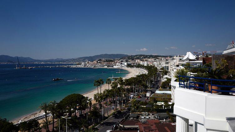 La Croisette à Cannes(photo d'illustration). (VALERY HACHE / AFP)