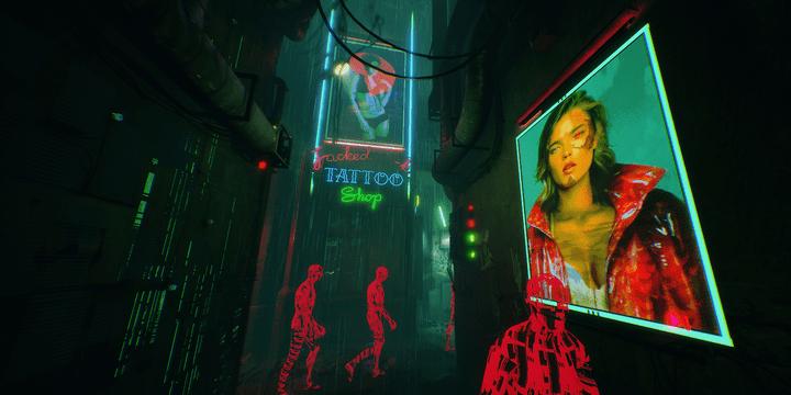 """Le jeu """"Observer"""", dans le style d'un thriller psychologique, place lui aussi les joueurs dans un univers cyberpunk saisissant  (Bloober Team)"""