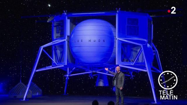 Espace : Jeff Bezos vise la Lune