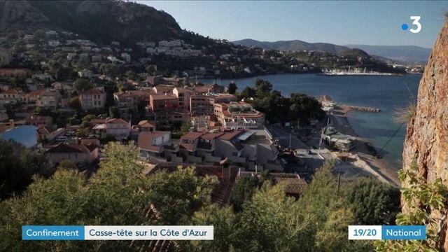 Confinement : casse-tête sur la Côte-d'Azur