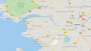 Cancers pédiatriques : l'école de Sainte-Pazanne reste ouverte à la rentrée (Capture d'écran Google Maps)
