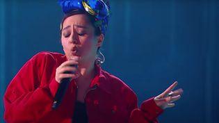 """Manizha, candidate russe au concours 2021 de l'Eurovision avec """"Russian Woman"""". (EUROVISION 2021)"""