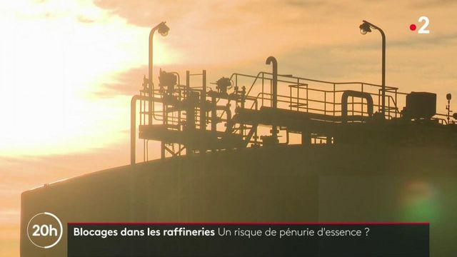 Blocages dans les raffineries : un risque de pénurie d'essence ?