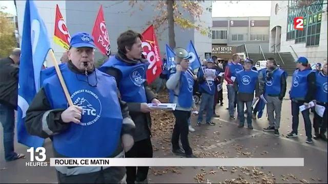 Grève : les vigiles dénoncent leurs conditions de travail