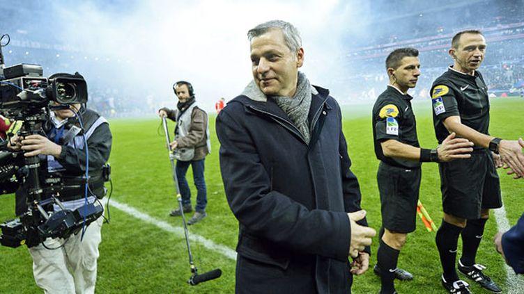 L'entraîneur de l'OL, Bruno Genesio