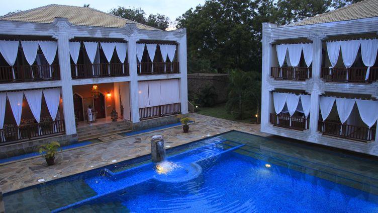 L'hôtel Kilili Baharini à Malindi au Kenya. (CELLAI-ANA / ONLY WORLD)