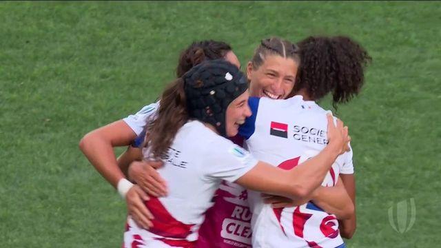 TQO rugby à 7 (F) : les meilleurs moments de France - Hong Kong