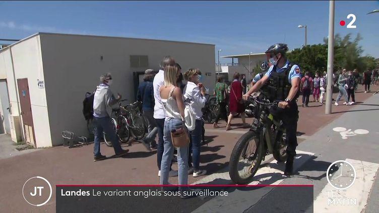 Le relâchement face au Covid-19 inquiète les autorités dans les Landes (France 2)