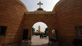 Le monastère de Marmina à l'est d'Alexandrie en Égypte. (MOHAMED EL-SHAHED / AFP)