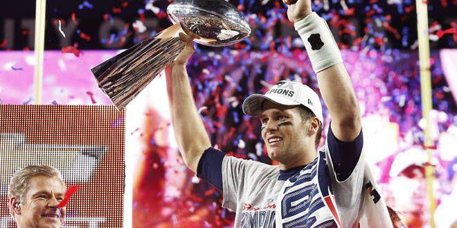 Le quaterback des Patriots, Tom Brady