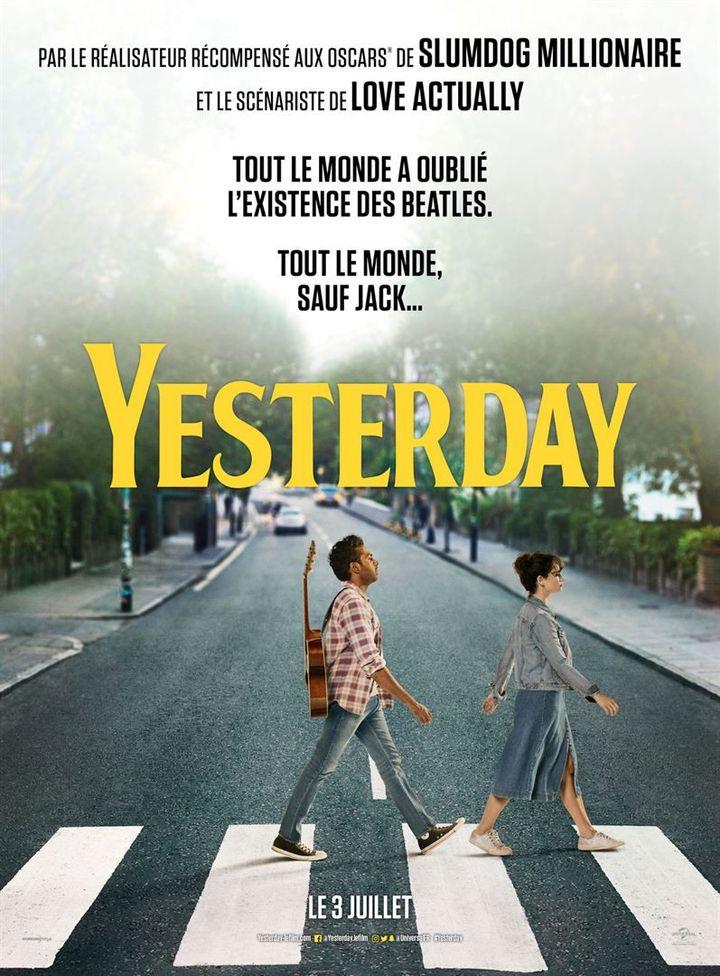 """L'affiche de """"Yesterday""""réalisé parDanny Boyle (sortie le 3 juillet 2019). (UNIVERSAL PICTURES)"""