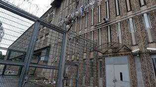 La Talaudière, la prison de Saint-Etienne (Loire), le 22 janvier 2018. (MAXPPP)