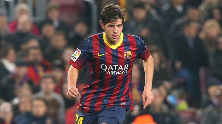 Le jeune milieu de terrain du Barça Sergi Roberto (MANUEL BLONDEAU / AOP PRESS)