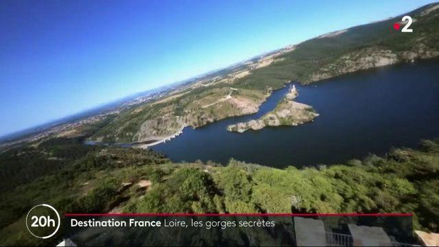 Les Gorges de la Loire, un site tranquille et magnifique