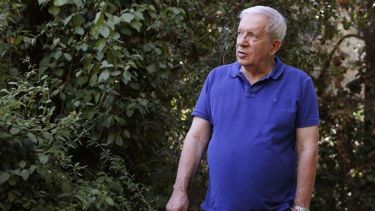 Charles Enderlin, à Jerusalem, le 14 août 2015. (GALI TIBBON / AFP)