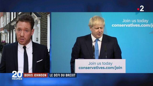 Royaume-Uni : Boris Johnson face au défi du Brexit