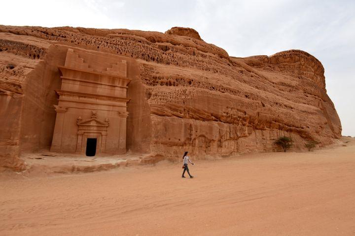 Al-Ula, site préislamique d'Arabie saoudite  (FAYEZ NURELDINE / AFP)