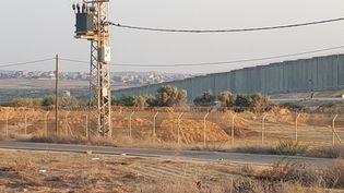 A 500 mètres de la bande de Gaza, le village de Netiv Ha'asra compte un millier d'habitants (OMAR OUAHMANE / RADIO FRANCE)