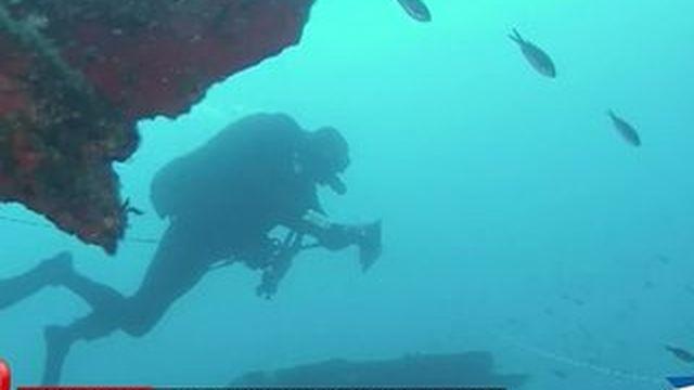 Immersion avec des plongeurs démineurs