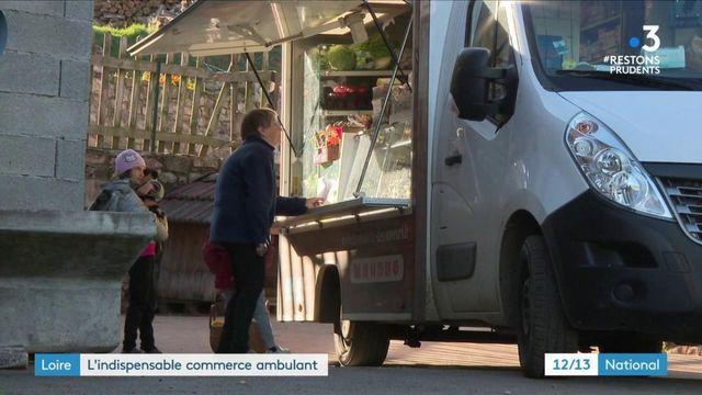 Confinement : Dans la Loire, l'indispensable commerce ambulant