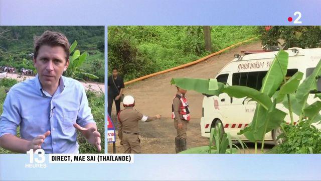 Thaïlande : le sauvetage a repris