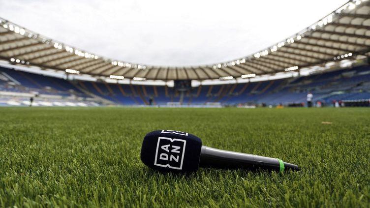 La plateforme de streaming DAZN a été évoquée par le quotidien italien Corriere dello Sport. (FEDERICO PROIETTI / FEDERICO PROIETTI)