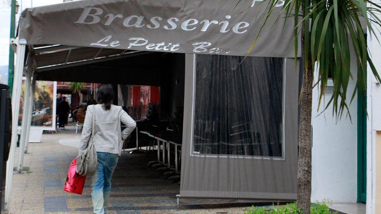 Le Petit Bar d'Ajaccio, qui a donné son nom à la bande dirigée par Jacques Santoni, photographié en avril 2013. ( AFP )