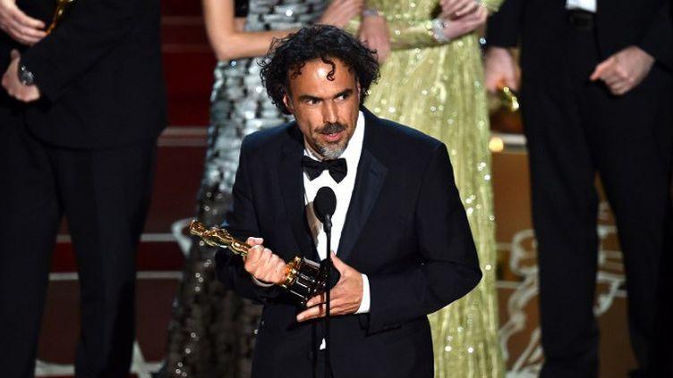 Alejandro González Iñárritu aux Oscars 2015  (KEVIN WINTER / GETTY IMAGES NORTH AMERICA / AFP)