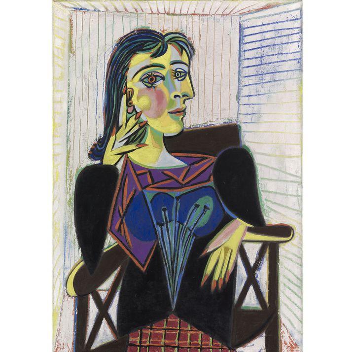 """Pablo Picasso, """"Portrait de Dora Maar"""", Paris 1937, Musée national Picasso-Paris  (RMN-Grand Palais / Mathieu Rabeau © Succession Picasso 2018)"""