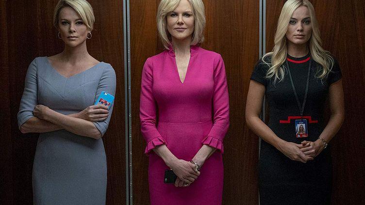 "Charlize Theron, Nicole Kidman et Margot Robbie dans ""Scandale"" de Jay Roach. (Copyright Metropolitan FilmExport)"