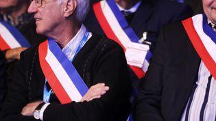Des maires au 100e Congrès des maires en 2017 à Paris. (JACQUES DEMARTHON / AFP)