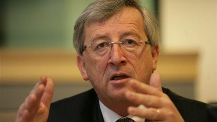 Le président de l'Eurogroupe et premier ministre luxembourgeois, Jean-Claude Juncker (15-4-2008) (© France 2)