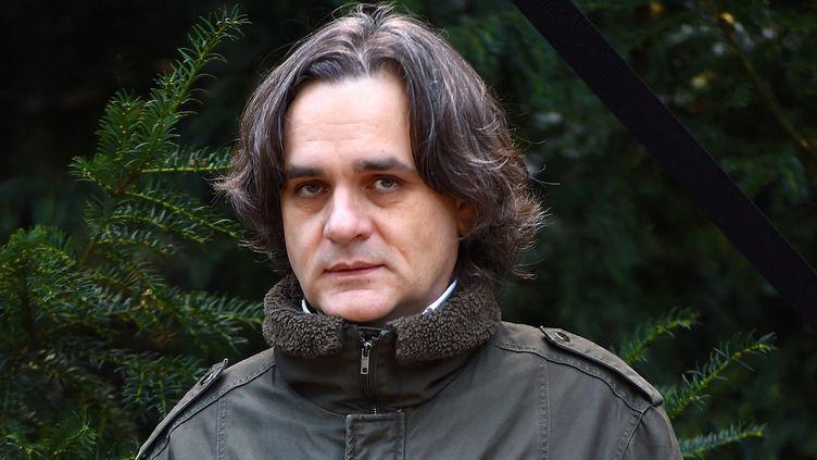 Riss, le patron de Charlie Hebdo, à Bayeux, le 8 octobre 2015  (Franck Castel / Wostok Press / MAXPPP)